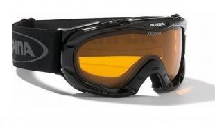 ALPINA - lyžařské brýle Jamp, černá transparentní