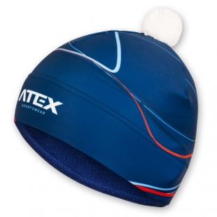 Dvouvrstvá čepice BIATEX BLUE