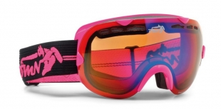 Lyžařské brýle DEMON - LEGEND fucsia