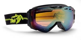 Lyžařské brýle DEMON - Absolute Matt Black Yelow
