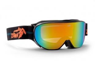 Lyžařské brýle DEMON - Cylinder Black Orange