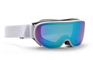 Lyžařské brýle DEMON - Cylinder Matt White