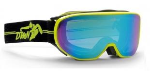 Lyžařské brýle DEMON - Cylinder Yellow