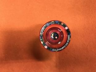 Yoyo z C3YoyoDesign - kolekce European Yoyo Championship - Cracow 2015 (testovaný produkt)