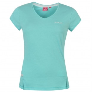 LA Gear triko světle modrá