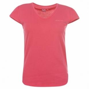 LA Gear triko, tmavě růžová