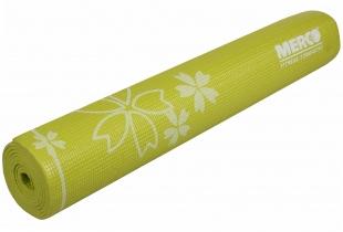 Karimatka Yoga s potiskem 173x61x0,6cm - limetková