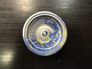 Yoyofficer metal silver/blue