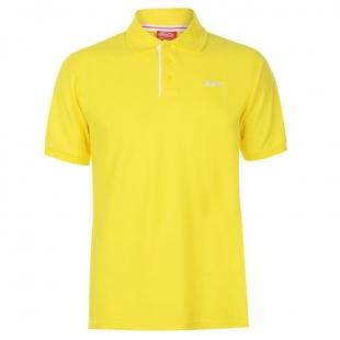 Pánské polo triko Slazenger, žluté