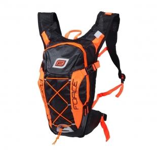 FORCE - batoh ARON PRO 10 l, černo-oranžový