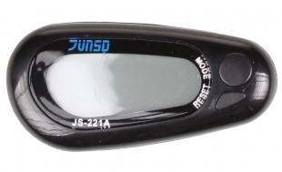 JS-221A multifunkční 3D krokoměr, černý