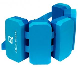 Plavecký pás 5-ti dílný, modrý