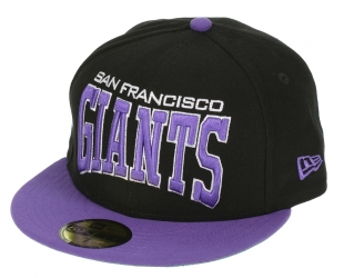 Kšiltovka New Era 59F Pro Arch MLB San Francisco Giants - Black/Varsity Purple
