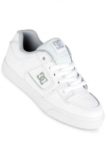 DC PURE SHOES KIDS (WHITE)