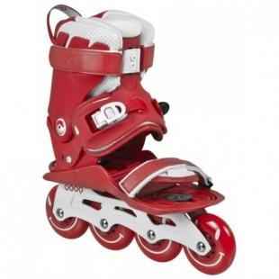 Kolečkové brusle Powerslide Doop Classic Red