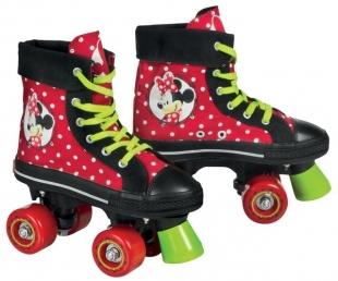 Kolečkové brusle Minnie Mouse Quads