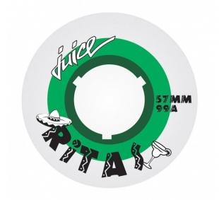 Kolečka Juice Ritas Dual Density Green (4ks)