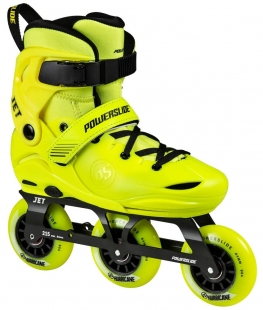 Dětské kolečkové brusle Powerslide Jet Neon Yellow