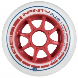 Kolečka Powerslide Infinity Plus Red (4ks)