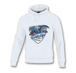 Mikina HC BAK Trutnov (hlavní logo) - bílá