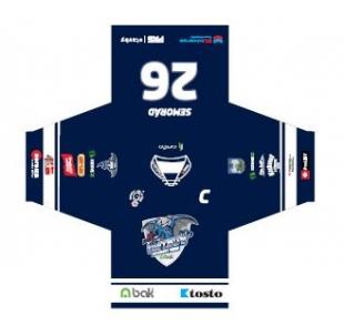 Oficiální dres HC BAK Trutnov - modrá