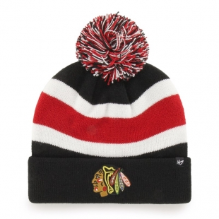 GS19 CHICAGO BLACKHAWKS BREAKAWAY BE '47 CUFF KNIT