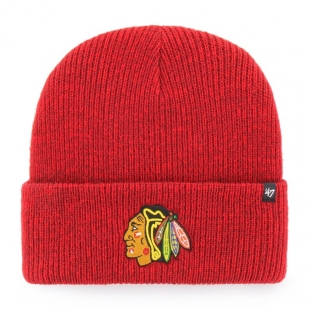 NHL CHICAGO BLACKHAWKS BRAIN FREEZE '47 CUFF KNIT