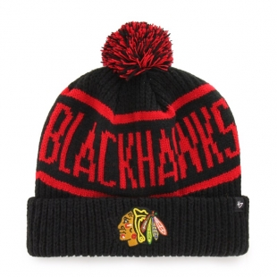NHL CHICAGO BLACKHAWKS CALGARY '47 CUFF KNIT