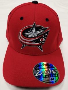 Kšiltovka Zephyr Columbus Blue Jackets - červená