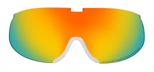 HTGL27/BR Náhradní čočka k lyžařským brýlím NORDIC HTG27 hnědá