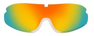 HTGL34/BR Náhradní čočka k lyžařským brýlím   CROSS HTG34 hnědá