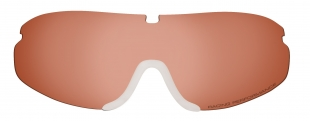 HTGL34/OR Náhradní čočka k lyžařským brýlím   CROSS HTG34 oranžová