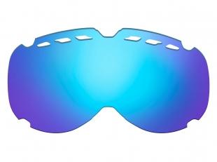HTGL56/BW Náhradní čočka k lyžařským brýlím   DRAGONFLY HTG56 hnědá