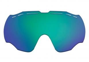 HTGL57/GR Náhradní čočka k lyžařským brýlím   HORNET HTG57 hnědá.