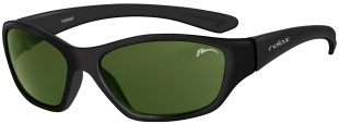 Dětské sluneční brýle RELAX Makin černé R3062B