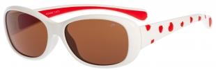 Dětské sluneční brýle Relax Elis bílé R3068C