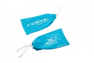 Mikrovláknový pytlík na brýle RELAX modrý
