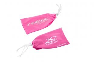 Mikrovláknový pytlík na brýle RELAX růžový