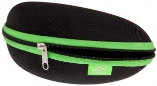Pevné pouzdro na brýle RELAX černo-zelené RP018B