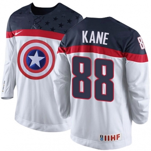 Hokejový dres Patrik Kane - Kapitán Amerika (Olympijský dres 2018)