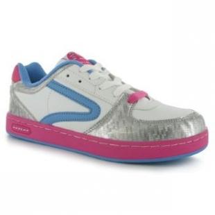 Boty Dunlop stříbrno-růžové dámské