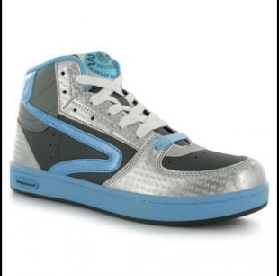 Boty Dunlop modro-šedé dámské