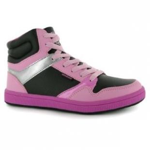 Boty Donnay černo-růžové dámské