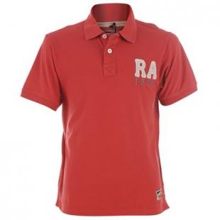 Pánské triko Russell A. červené