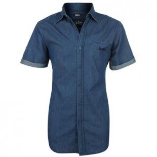 Pánská košile Lee Cooper modrá