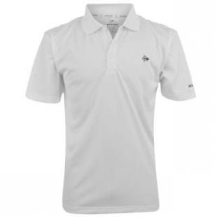 Pánské triko Dunlop bílé