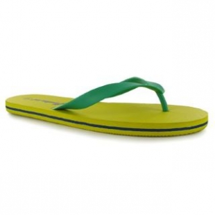 Žabky Propeller žluto-zelené