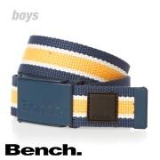 Pásek Bench modro-oranžový vel.M-L