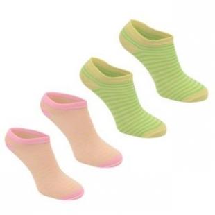 Ponožky kotníkové Miss Fiory barevné dámské
