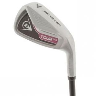 Dámská golfová hůl Dunlop bílo růžová